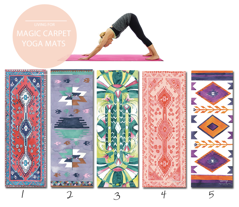 Magic Carpet Yoga Mat Ideas